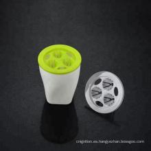Macetas de flores de jardín de plástico de auto de riego de plástico