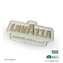 Emblema de nome esmaltado suave personalizado para presente de promoção