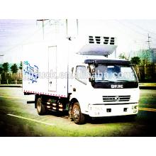 Unidad 4X2 capacidad de carga 3-5T Dongfeng Refrigerator Truck / camión congelador / enfriador truck / refrigerated truck / cooling truck