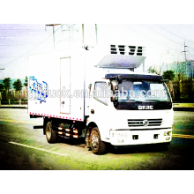 4X2 lecteur 3-5 T capacité de chargement Dongfeng Réfrigérateur camion / congélateur camion / camion de refroidissement / camion réfrigéré / camion de refroidissement