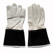 Goat Grain Leather Industrial Safety TIG Welding Gloves