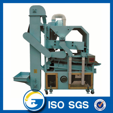 Compound grain seed cleaner separator