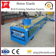 Colored Roof Sheet Panel Metal Tile Rolls Forming Machine