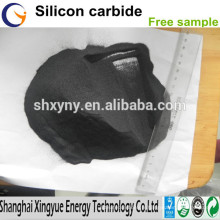 Le fournisseur fournissent le carbure de silicium noir de haute pureté / prix concurrentiel de poudre de carbure de silicium