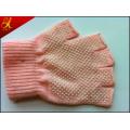 Pink Cotton Working Gloves