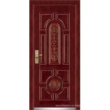 Стали деревянные бронированная дверь / стальная деревянная дверь (ЖЛ-G9001)