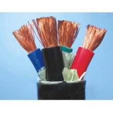 3 Kerne Allgemein Gummi Ummanteltes flexibles Kabel