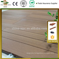 top 10 HDPE manufactory beautiful High UV-resistant plastic outdoor deck flooring