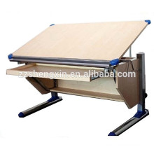 Wooden Metal Height Adjustable Drawing Table engineer drawing table