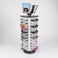 Expedited Shipping Acrylic Rotating Sunglass Display Stand Holder 36 Pairs