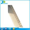 Uv beschichtetes Doppelwand-Mattglas aus Polycarbonat