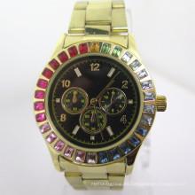 Reloj de la aleación de los hombres reloj de la manera reloj caliente barato (HL-CD042)