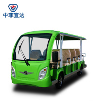 Electric Tourist Shuttle Bus Made in China