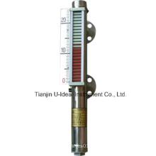 Uhc-Magnetic Flapper-Level Transmitter-Plastic Column Aluminium Panel for High Temperature