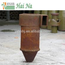 Eliminación de cenizas Colector de polvo de cerámica Ciclón