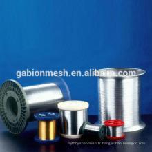 Fil d'acier inoxydable de 0,7 mm de haute qualité