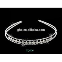 New fashion wholesale rhinestone girl knot head bands