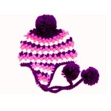 Custom mão crochet bebê Hat Earflap Beanie Newborn Photo Prop