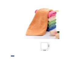 Superfeine Faser Cartoon geprägtes kleines Handtuch Kinder Logo
