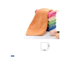 Superfine fiber Cartoon embossed small towel children logo