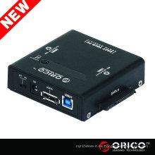 "HDD Duplicador OS Clone 2.5 ""3.5"" 5.25 ""SATA a usb Hard Drive caddy HDD caso EnclosureUSB 3.0 e-SATA"