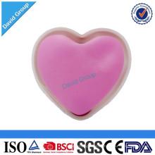 Forma de corazón reutilizable Click Hot Pad