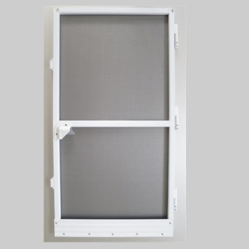 Aluminum alloy anti-mosquito fixed screen door