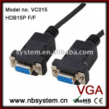 Cable de módem nulo DB9