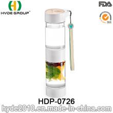 500ml botella de infusión de fruta recién Tritan BPA gratis, botella de infusión de fruta plástica (HDP-0726)