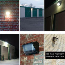 Uso al aire libre Paquete de pared LED IP65