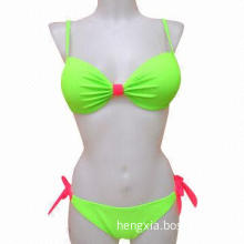 Ladies' Bikini with Candy Color Design and Two Bows of Different Colors, Specials