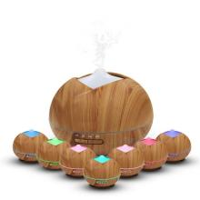 Humidificateur ultrasonique en bois d'humidificateur de brume de 400ml