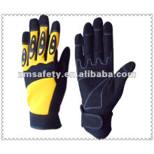 Synthetic leather knuckle protection gloves for mechanic workingJRM105