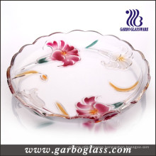 Big Lily Glass Plate (GB1716LB/PDS)