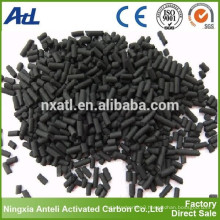 extruded activated carbon with KOH impregnated