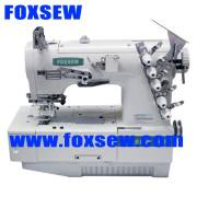 Máquina de coser de SIRUBA tipo Flatbed Interlock