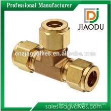 JD-1020 geschmiedete Messing-Gleichheits-T-Stück-Befestigungen