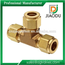 JD-1020 Forged Brass Equal Union Tee Fittings