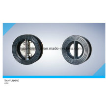 Rubber Lined PTFE Cast Steel Wafer Non Return Check Valve