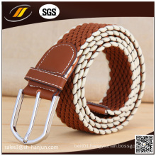 High Quality Leather Sport Jeans Lady′s Elastic Belt