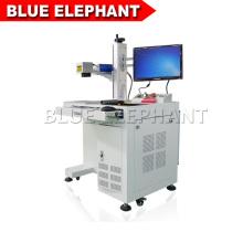 Machine d'inscription de laser de fibre de prix bon marché, machine de gravure de laser en métal Arcylic en cristal 3d