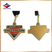 2017 Hot Sale China Fabricante Barato Medalha de triatlo personalizada