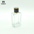 производитель Китай пустой прямоугольная бутылка дух 100ml стеклянная