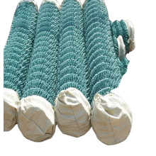pvc coated   galvanized chain link fence with good quality