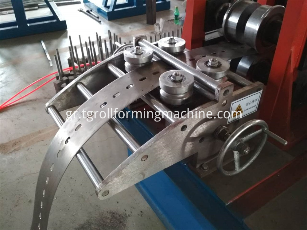 Utility Tunnel Bracket Machine