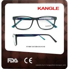 2017 luxuriant en conception dernière mode hommes acétate cadre optique lunettes cadre optique lunettes cadre