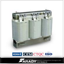 Transformateur à réacteur à énergie solaire à 3 phases de 75kVA pour système photovoltaïque