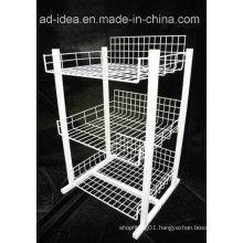 Wire Metal Display for Presenting Softdrink etc