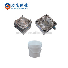 Gold Supplier China Export Oval Shape Plastic Paint Bucket Mould High Quality Plastic Paint Bucket Mould