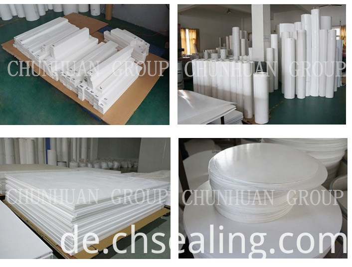 Pure White Teflon Molded Sheet